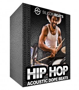 Acoustic Hip Hop Drum loops