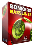Bonkers Basslines - Electro House Loops for Garageband