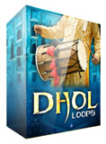 Indian Dhol Drum Loops in Apple Loops format.