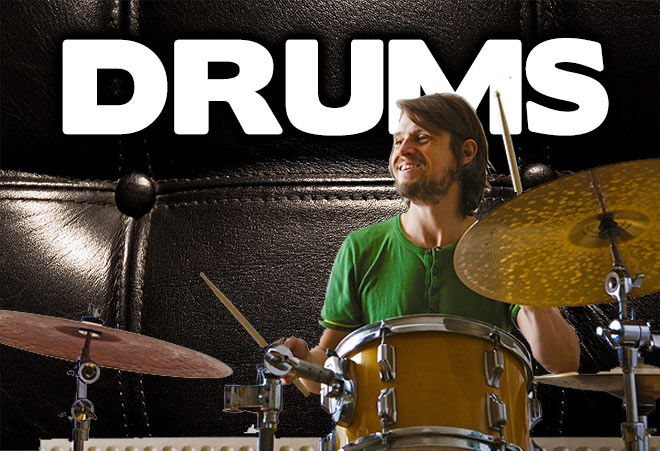 Drum Apple Loops for Garageband and Logic Pro