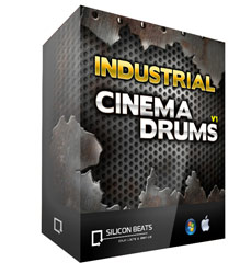Industrial Cinematic Drum Loops for Garageband