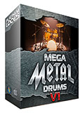 Mega Metal Drum loops V1 for Garageband