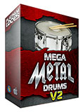 Mega Metal Drum Loops V2 for Garageband