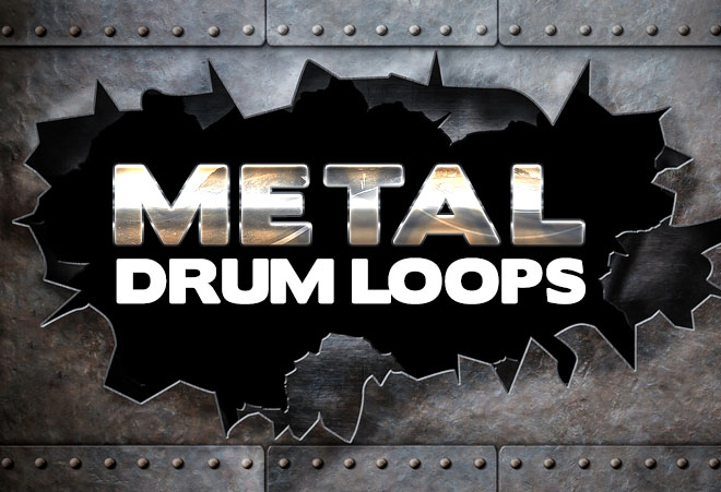 Heavy Metal Drum Loops for Garageband and Logic