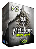 Metalcore Drum loops Apple Loops