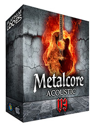 Metalcore Acoustic Guitar Samples for Garageband