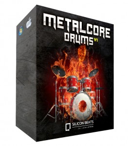 Metalcore Drum Loops in Garageband