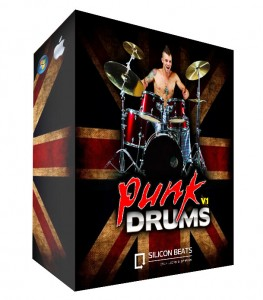 Punk Drum Loops for Garageband and Logic