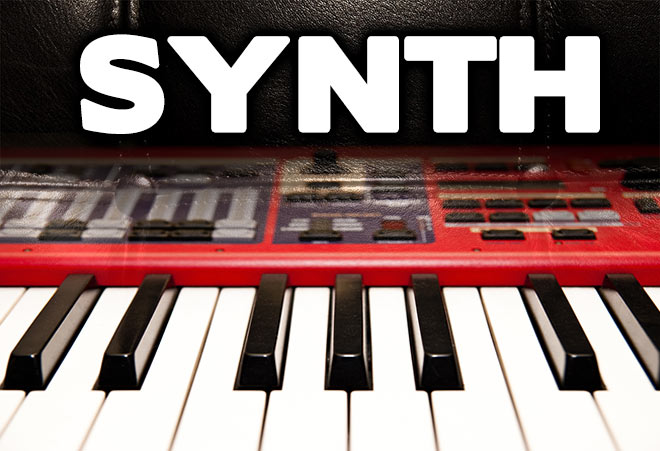 Synth Apple Loops for Garageband in AIFF