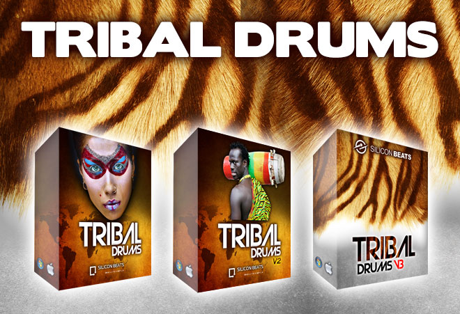 Tribal Drum Loops for Garageband