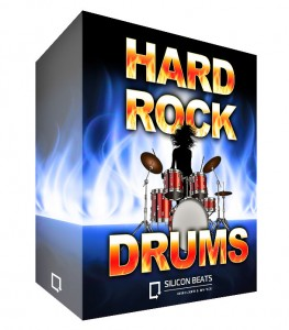 Hard Rock Drum Loops for Garageband in Apple Loops format
