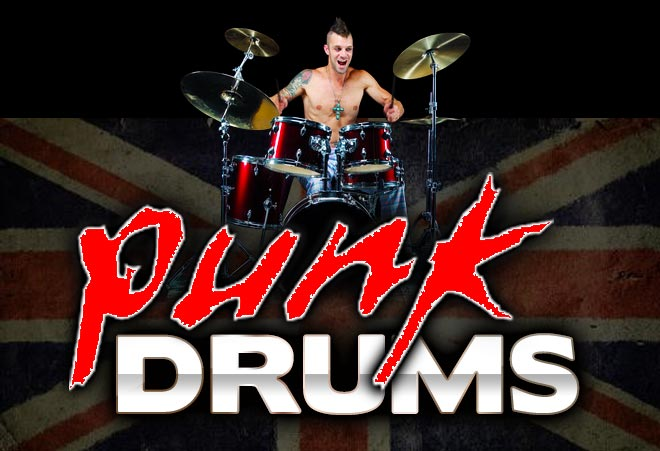 Punk Drum Loops for Garageband