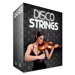 Disco Strings - Violin Apple Loops