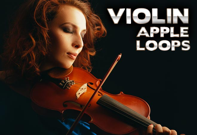 Violin Apple Loops for Garageband