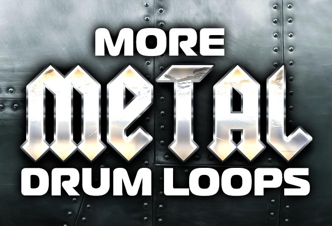 Metal Drum Loops for Garageband and Logic