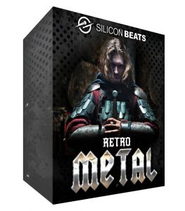 Retro Metal Drum Loops