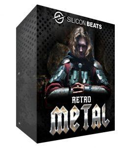 Retro Metal Drum Loops