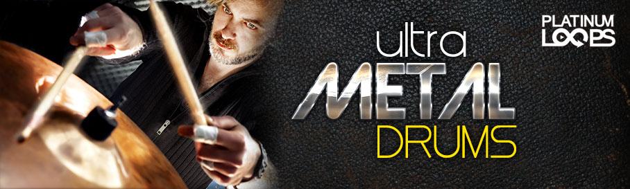 Ultra Metal Drum Loops for Garageband