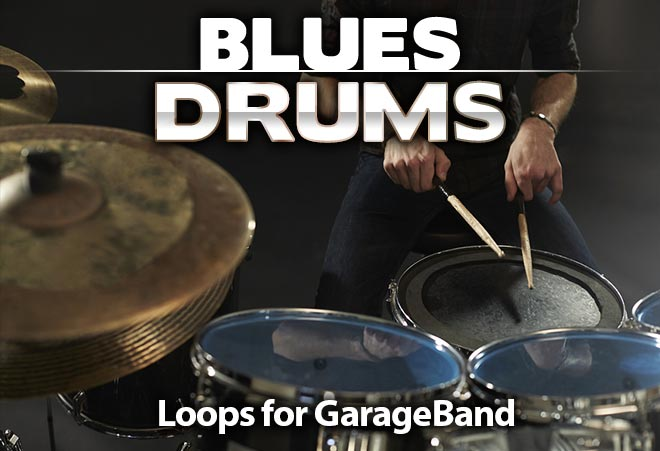 Blues Drum Loops for Garageband
