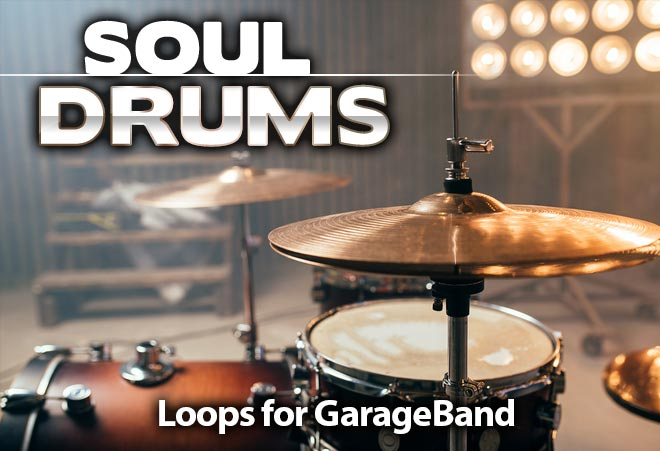 Soul Drum Loops for Garageband