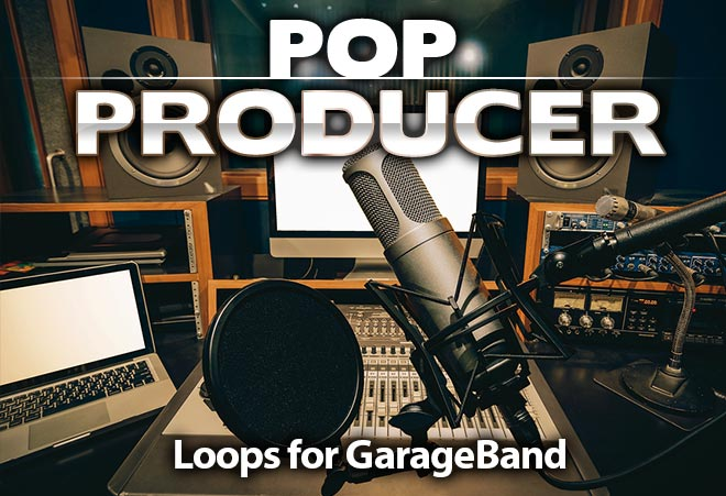 Pop Producer Loops for Garageband