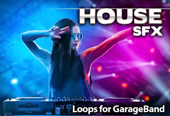 House Samples Sound Effects for Garageband