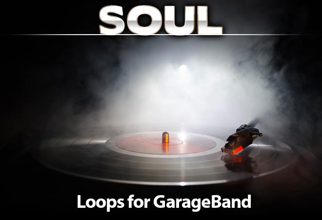 Soul Loops for Garageband and Logic in AIFF Format